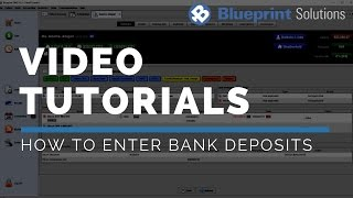 How to Enter Bank Deposits