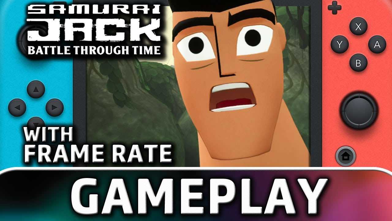 Samurai Jack: Battle Through Time | Nintendo Switch Gameplay and Frame Rate