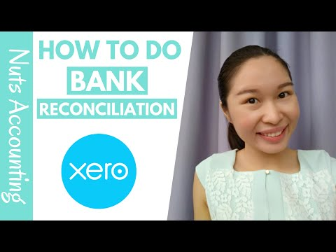 Xero Training - How to do Bank Reconciliation for Online ... - YouTube