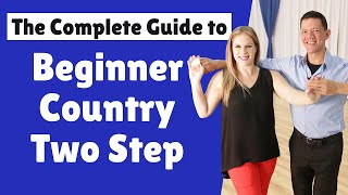 Beginner Country Two Step Dance Tutorial | Basic Two Step Patterns