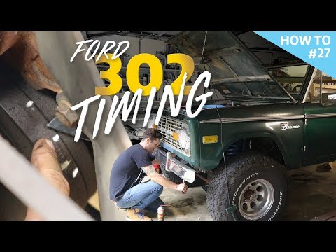 Ford 302: Setting the timing without timing marks