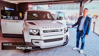 Đánh giá huyền thoại off-road Land Rover Defender 2020 mới, giá từ 1,16 tỷ tại trời Tây |XEHAY.VN|