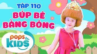 Mầm Chồi Lá Tập 110 - Búp Bê Bằng Bông   Nhạc thiếu nhi hay cho bé   Vietnamese Kids Song