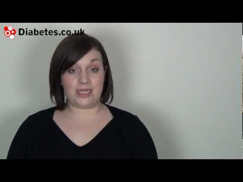 Screenshot for video: Diabetes and Children
