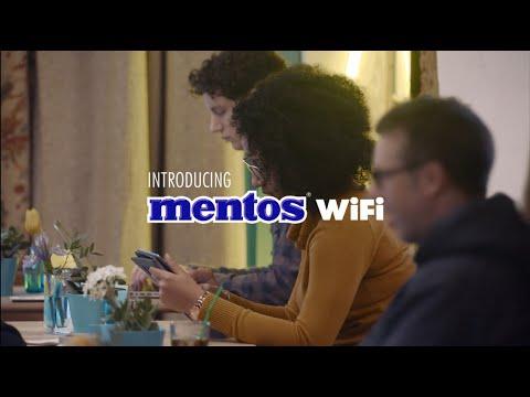 Mentos: WiFi in ruil voor een praatje
