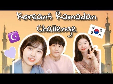 Koreans' Ramadan Fasting Challenge | How did they feel?