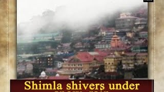 Shimla Shivers Under Snow Rain  ANI News