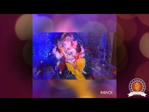 Vipul Mayekar Home Ganpati Decoration Video