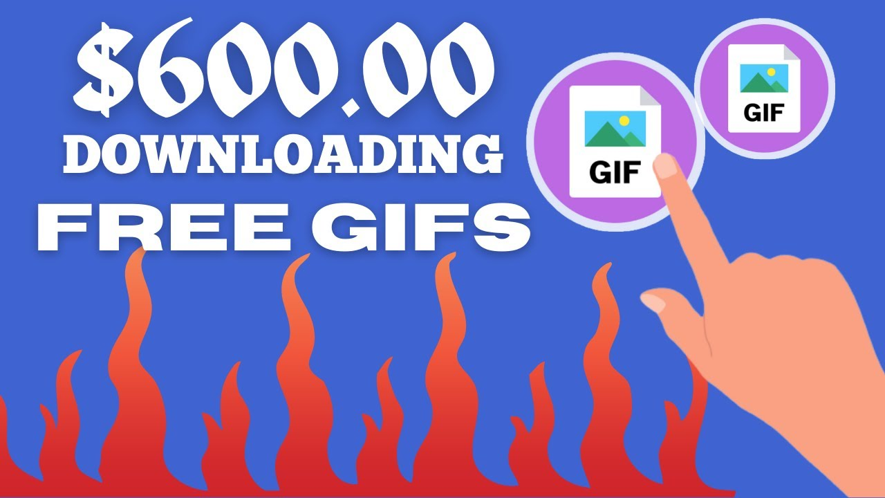 Make $600 For Each GIF You Download (Earn Money Online) thumbnail