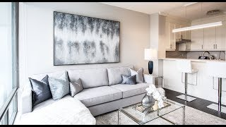 Condo Makeover Downtown Toronto - Living Room, Bedroom And Den