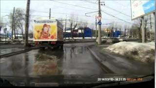 Свежая подборка аварий (апрель 2014)