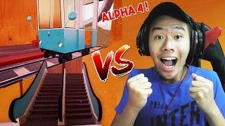BISA NAIK KERETA/ESCALATOR RUMAH ALPHA 4 !! - Hello Neighbor Indonesia #15
