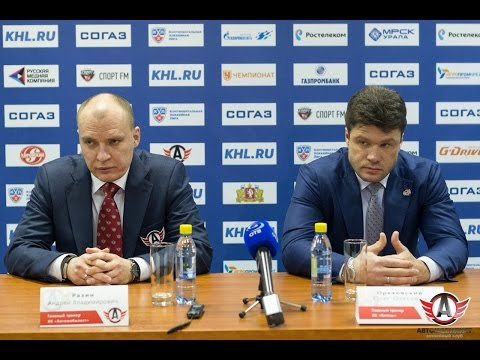 "Пресс-конференция - ""Автомобилист"" 3:2 ""Витязь"" (25.11.15)"