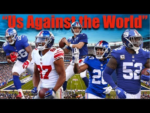 """2019 Giants """"Us Against the World"""" Hype Video"""