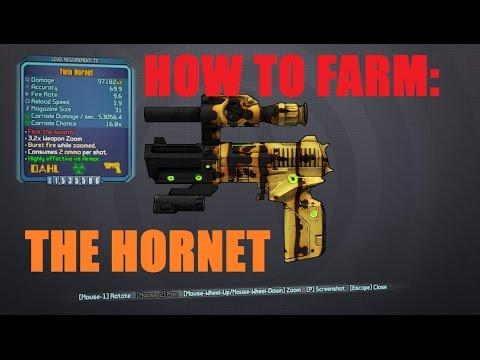 BORDERLANDS 2 | *Hornet* Legendary Weapons Guide - смотреть онлайн