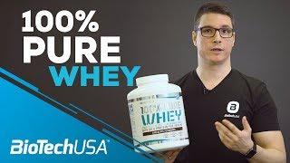 Ismerd meg a 100% Pure Whey-t - BioTechUSA