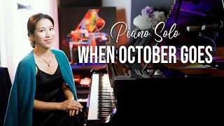 When October Goes (Barry Manilow) Piano Cover by Sangah Noona