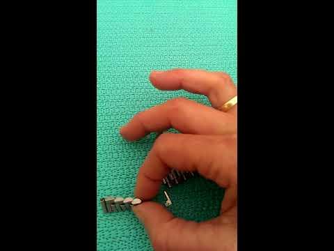 Uhrenarmband kürzen, Stift nicht sichtbar