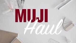 ✏ MUJI Haul   Stationery, notebooks +