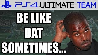 IT BE LIKE THAT SOMETIMES! - Madden 15 Ultimate Gameplay | MUT 15 PS4 Full Game