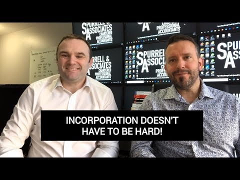 Incorporation Doesn't Have To Be Hard