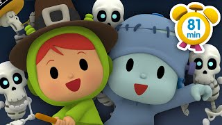 💀POCOYO in ENGLISH -The Terrifying Halloween Show 81 min |Full Episodes |VIDEOS & CARTOONS for KIDS