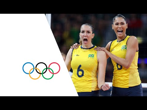 Women's Volleyball Pool B - BRA v TUR | London 2012 Olympics