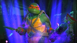 Injustice 2 - TMNT (Ninja Turtles) Michelangelo Performs All Super Moves/Super Move Swap Mod