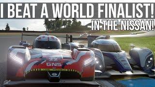 I Beat A Gran Turismo Sport World Finalist!