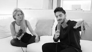 Shakira y Maluma hacen presentación íntima de 'Trap'