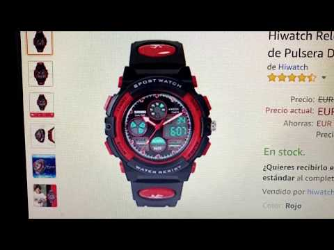Hiwatch Relojes Deportivos Impermeables Niños