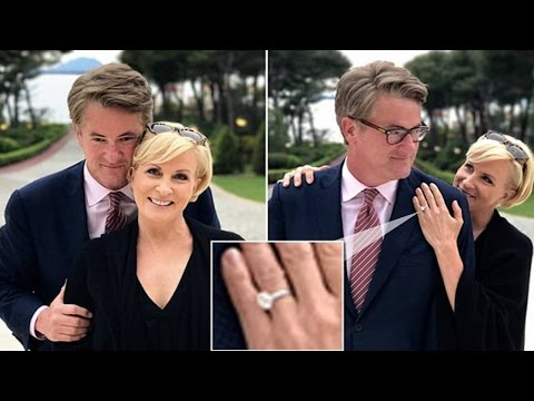 Mika Brzezinski shows off engagement ring from Joe Scarborough   joe scarborough and mika brzezinski