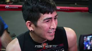 "LEO SANTA CRUZ ""TANK DAVIS IS THE BEST SUPER FEATHERWEIGHT"" TALKS WANTING TO FIGHT LOMACHENKO"