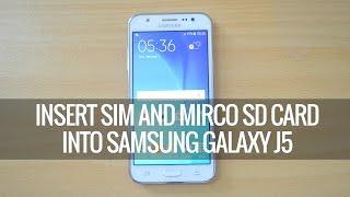Samsung Galaxy J5 Sim Karte Einlegen.Samsung Galaxy J5 Warum Ist Bei Mir Der Platz Fur Micro Sd