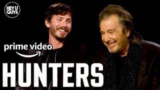 Logan Lerman & Al Pacino On Jordan Peeles Nazi Hunting Series Hunters