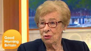 Anne Frank's Stepsister and Auschwitz Survivor Says She Never Gave up | Good Morning Britain