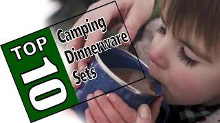 ⛺Best Camping Plates 2020 - Top 10 Camping Dinnerware Set