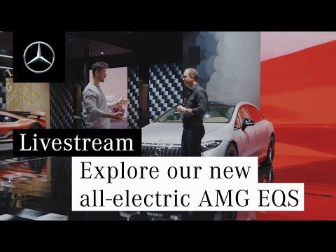 Musique publicité Mercedes Benz Découvrez notre nouveau pub AMG EQS tout électrique 2021   Juillet 2021