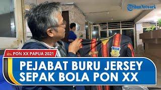 Jersey Tim Sepak Bola PON XX Papua Diburu Menteri hingga Pejabat, Diproduksi di Tasikmalaya