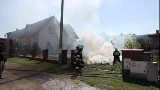 preview picture of video 'POŻAR TRAW W PRASZCE (24.05.2012r.)'