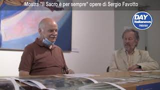 """Castelfranco, la mostra """"Il sacro è per sempre"""" con l'artista dei Papi"""