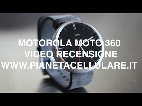 Motorola Moto 360, video recensione in Italiano