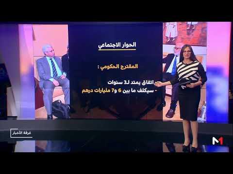 العرب اليوم - الحوار الاجتماعي بين طرح النقابات ورؤية الحكومة المغربية