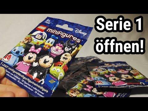 LEGO Disney Minifiguren Serie 1 öffnen! | Minifigures opening!