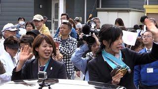 高木姉妹、地元・幕別でパレード 金メダル祝う