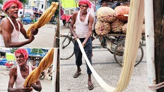 Grandpa CANDY Making With Jaggery  In a Festival Near My Village | JEEDI Making Process