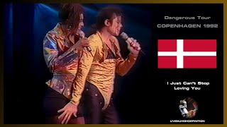Michael Jackson Live In Copenhagen 1992: I Just Can't Stop Loving You - Dangerous Tour