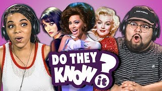DO COLLEGE KIDS KNOW MOVIE MUSICALS? (REACT: Do They Know It?)
