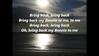 Celtic Songs My Bonnie Lies over the Ocean words lyrics best top popular favorite sing along song