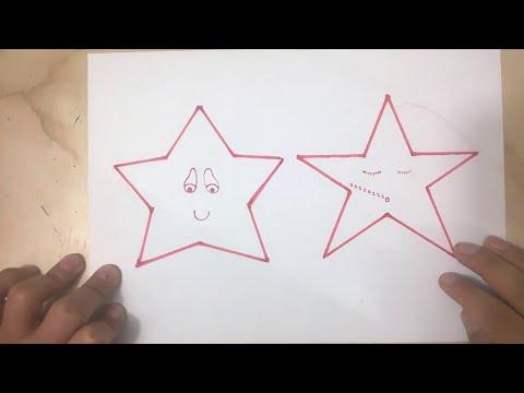 Como hacer un molde de estrella